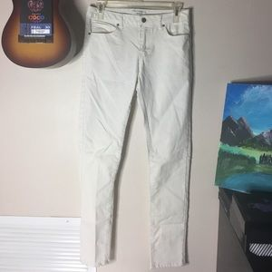 White skinny jeans from Forever 21